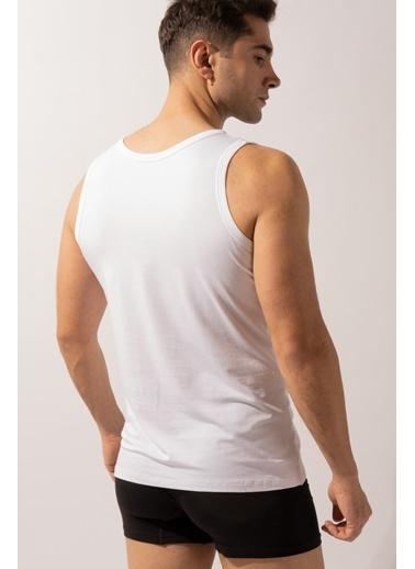 Katia & Bony Kolsuz Basic Modal Erkek Atlet  Beyaz